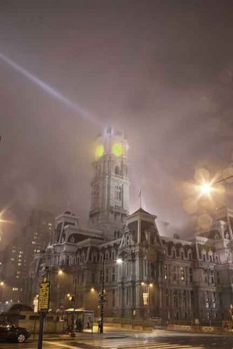 City Hall  In Fog © Armond Scavo 2014