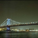 Ben Franklin Bridge No.1 Notecards